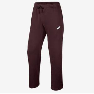 Nike | Open Hem Fleece Pants Sz XL